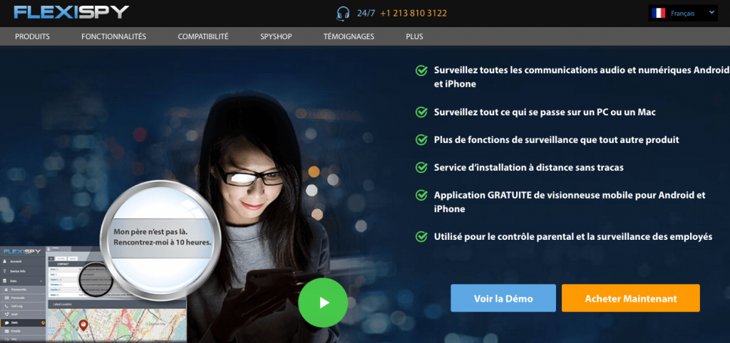 Le logiciel espion FlexiSpy